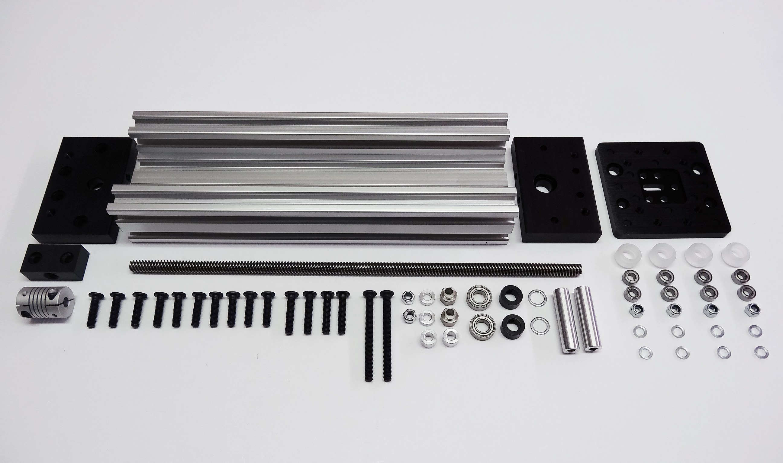 C beam linear actuator bundle openbuilds for Low profile stepper motor