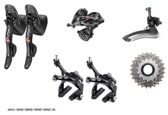 Campagnolo Super Record Ergo 6 piece Upgrade Kit