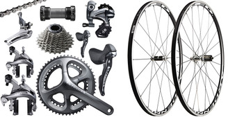Shimano Ultegra 6800 STI Groupset with Choice of Wheelset