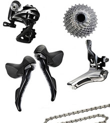 Shimano Dura-Ace 9000 STI 5 Piece Conversion Kit
