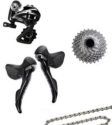 Shimano Dura-Ace 9000 STI 4 Piece Conversion Kit