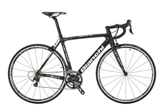 Bianchi B4P Sempre Pro Shimano STI equipped Carbon Bicycle, Black - Build It Your Way