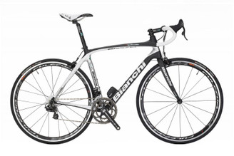 Bianchi C2C Infinito Campagnolo Athena EPS equipped Carbon Bicycle, Carbon / Silver - Build It Your Way