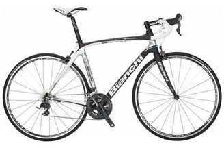Bianchi C2C Infinito Shimano Ultegra 6700 equipped Carbon Bicycle, Carbon / Silver - Build It Your Way