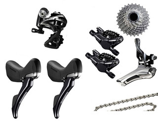 Shimano Dura-Ace 9000 Hydraulic STI 6 piece Upgrade Kit