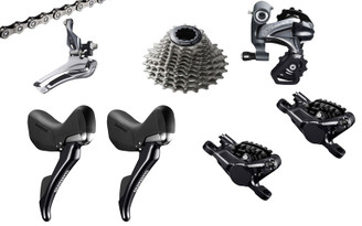 Shimano Ultegra 6800 Hydraulic STI 6 piece Upgrade Kit