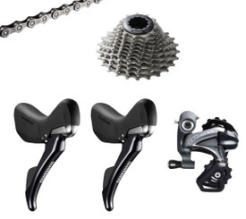 Shimano Ultegra 6800 Hydraulic STI 4 piece Conversion Kit