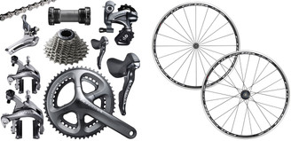 Shimano Ultegra 6800 STI Groupset with a Fulcrum Racing 7 Wheelset