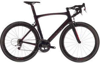 Ridley Noah SL Shimano STI equipped Carbon Bicycle, Black & Red - Build It Your Way