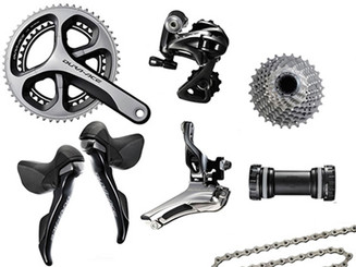 Shimano Dura-Ace 9000 STI Groupset (less calipers)