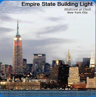 New York Scenery Cleaning Cloths: Empire State Building