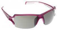 Native Eyewear Polarized Sunglasses: Blanca in Pink & Silver Reflex