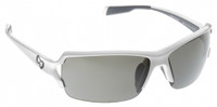 Native Eyewear Polarized Sunglasses: Blanca in Snow & Silver Reflex