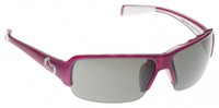 Native Eyewear Polarized Sunglasses: Itso in Pink & Silver Reflex