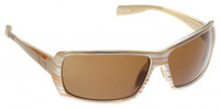 Native Eyewear Polarized Sunglasses: Trango in Pearl Swirl & Brown