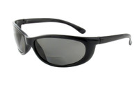 Sun-Mag+ Polarized Bi-Focal Sunglasses Readers in Black & Grey