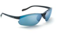 Native Eyewear Polarized Sunglasses: Dash XP in Asphalt & Blue Reflex