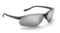 Native Eyewear Polarized Sunglasses: Dash XP in Charcoal & Silver Reflex