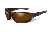 Wiley-X™ Echo in Matte-Layered Tortoise & Polarized Amber Lens