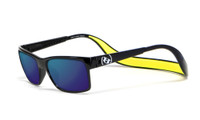 Hoven Eyewear MONIX in Black Gloss with Yellow Tahoe & Blue Polarized