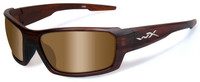 Wiley X Rebel in Layered Tortoise & Polarized Bronze