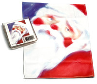 Holiday Christmas Theme Cleaning Cloth Santa