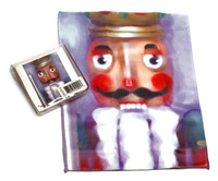 Holiday Christmas Theme Cleaning Cloth Nutcracker