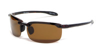 Grand Banks™ 8339 Polarized Sunglasses in Tortoise & Amber