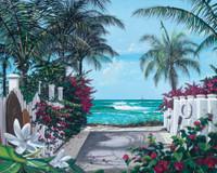 Beach Access 240-75b-3 Artwork Micro Fiber Cleaning Cloth