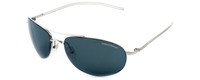 Vuarnet Designer Polarized Sunglasses VL1040-0001 Silver Frame with Grey Tint Lens