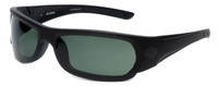 Harley-Davidson Designer Polarized Sunglasses HD0625S-02R in Matte-Black Frame & Grey Lens