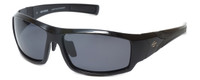 Harley-Davidson Designer Polarized Sunglasses HD0630S-01D in Black Frame & Grey Lens