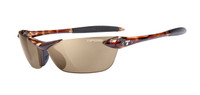 Tifosi High Performance Sunglasses Seek in Tortoise & Polarized Brown Lens
