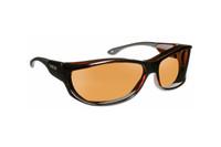 Haven Designer Fitover Sunglasses Foxen in Tortoise & Polarized Amber Lens (MEDIUM/LARGE)