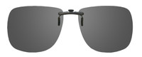 Montana Eyewear Clip-On Sunglasses C1 in Polarized Grey 62mm