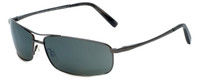 Reptile Designer Polarized Sunglasses King in Gunmetal with Grey Lens