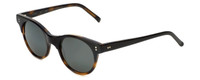 Reptile Designer Polarized Sunglasses Plateau in Black-Tortoise with Flash Mirror Lens