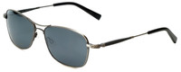 Reptile Designer Polarized Sunglasses Rabida in Antique-Silver with Flash Mirror Lens