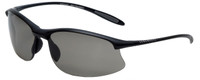 Serengeti Sunglasses Maestrale in Satin-Black & Polarized Grey CPG Lens