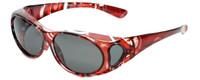 Calabria PC8866POL-JP-2 Polarized Fit-Over Sunglasses Medium Size