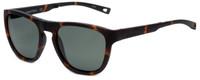 Nautica Designer Folding Sunglasses N6224S-215 in Matte Tortoise with Grey Lens
