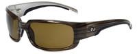 Ono's™ Polarized Sunglasses: Matagorda in Grey Wood & Amber