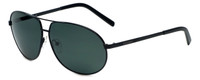 Azzaro Designer Polarized Sunglasses AZ4384-C1 in Black 63mm