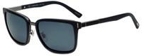 Chopard Designer Polarized Sunglasses SCHB84-U28P in Shiny Matte Black with Grey Lens