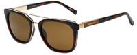 Chopard Designer Polarized Sunglasses SCHA04-300P in Havana with Brown Lens