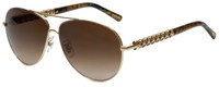 Chopard Designer Sunglasses SCHB66S-300 in Shiny Rose Gold with  Rose Gradient Lens