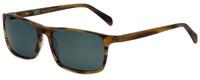 Argyleculture Juke Designer Polarized Sunglasses in Brown with Grey Lens