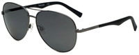 Timberland TB9109-09D Designer Polarized Sunglasses in Matte Gunmetal with Grey Lens