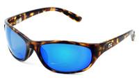 Ono's™ Polarized Bi-Focal Readers: Oak Harbor in Tortoise & Blue Mirror