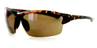 Grand Banks™ Polarized Bi-Focal Readers: 472BF in Tortoise & Amber